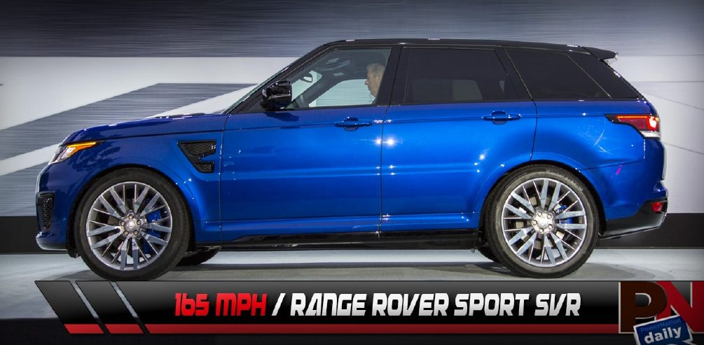 550HP Range Rover SVR, Top Gear, Lexus Heartbeat Car, Mopar Award - PowerNation Daily