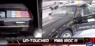 Brand New 1985 IROC Z28 Discovered In Truck Trailer: Where Is It Now ?