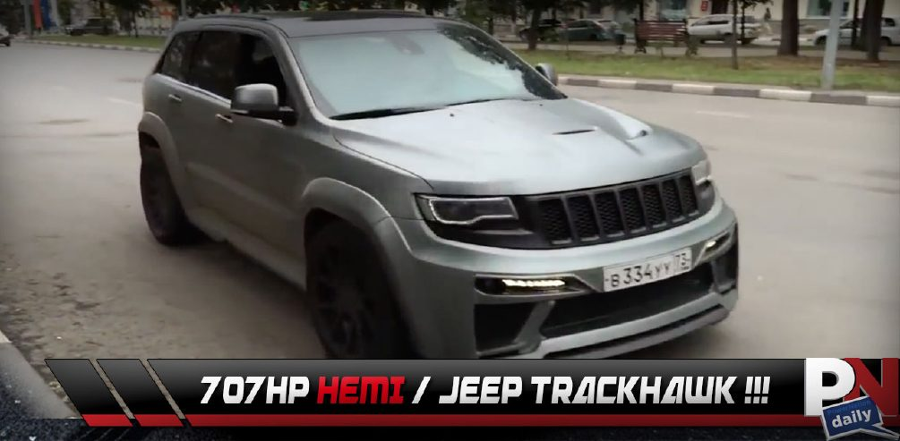Hellcat Jeep Trackhawk One And Done, 2015 Roush F-150, Bye Xterra, Tesla Competition, Top 5 Fast Fails