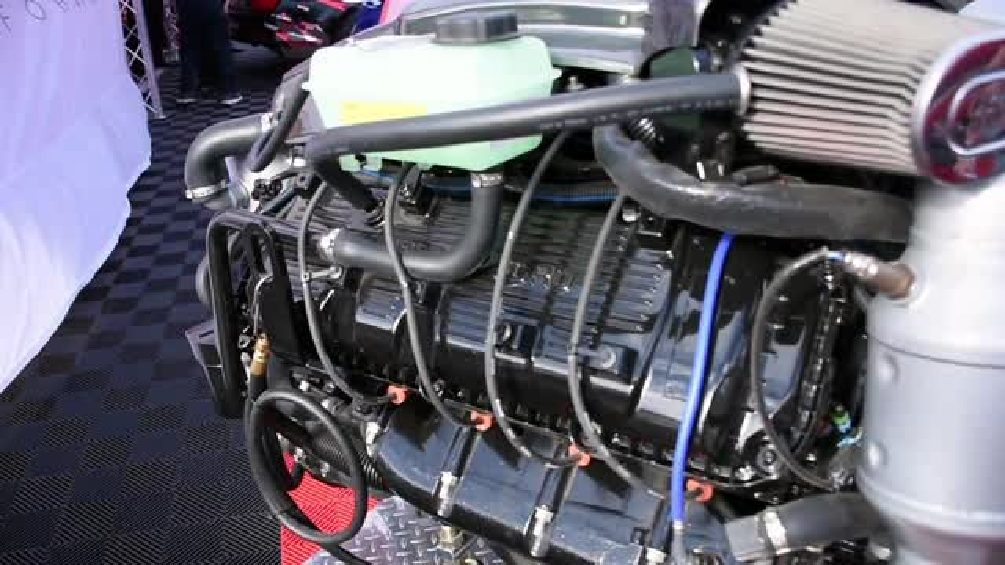 SEMA 2015 Update: Roush Raptor Boat Engine By Indmar