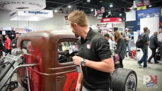 SEMA 2015 Update: 1946 Chevy Truck With A Modern Dodge Diesel Engine, Turbos, And Nitrous!