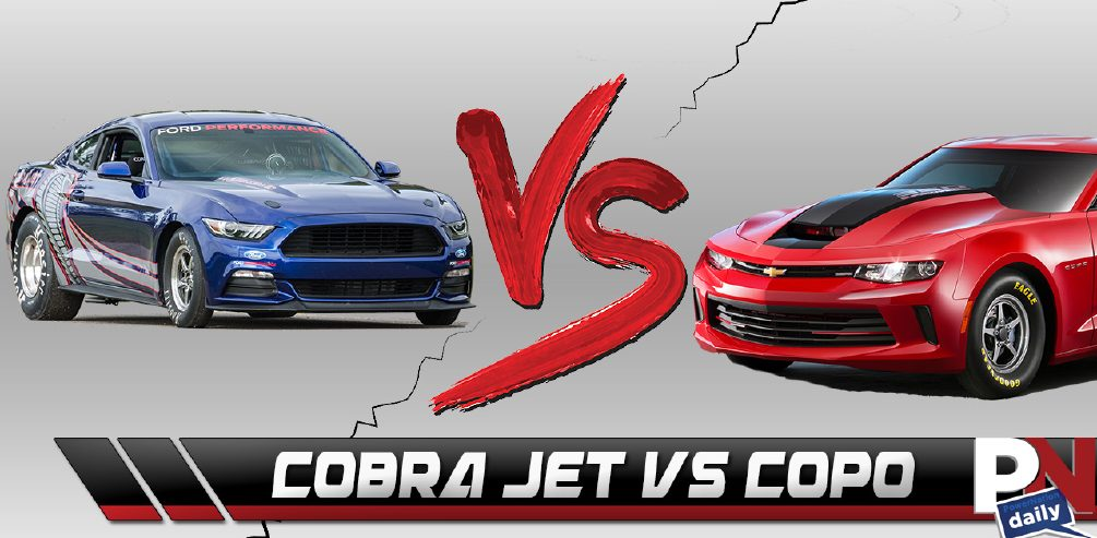 COPO Camaro VS Cobra Jet, Logano's Luck, George Barris Passes, SEMA Updates, LaFerrari Crash