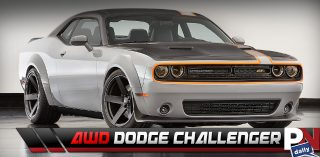 AWD Challenger, Self Driving Car Pulled Over, 700HP 4 Cyl. Supercar, Motobot, Jeremy Clarkson, Tesla Cops