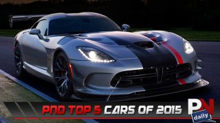 PowerNation Daily's Top 5 Cars Of 2015