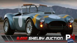 Rare Shelby Auction, Engine or Coffee, Road Fatalities On The Rise, Self Parking Chairs, and Top 5 Fast Fails