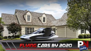 Flying Cars Are Close, Domino's New Delivery Cars, Insane Corvette Collection, Self-Emptying Trash Cans, And A Ford GT A