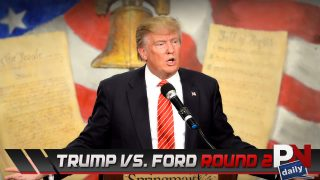 Trump Vs. Ford, Escape Gets Wiper De-Icer's, Electric Corvette, Mustang Rumors, And A Nasty Drag Strip Crash!