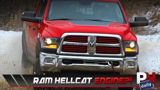 Jeep Crew Chief Concept, All Titanium Car, Alternative Fuels, Lazareth LM847, And a RAM Hellcat!
