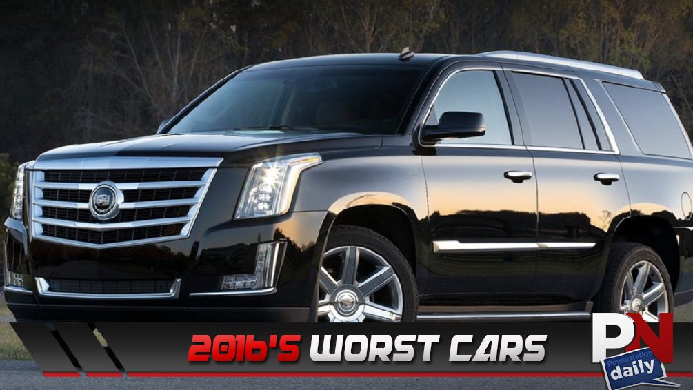 Worst Cars of 2016, Standard Automatic Braking, Guinness World Record, Formula 1 Crash, And FBI Warns Drivers!