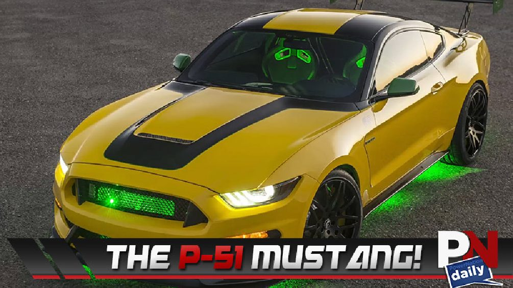 Drifting With Tri-Ace Tires, The P-51 Mustang, Whiskey For Fuel, Route 66 Going Solar, Ford Robots, and the Hyundai N-Ba