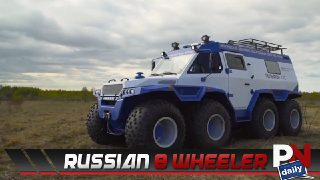 Wrangler Gets EBC Brakes, Ford & Tequila, Supercar Acceleration, Single Cab Titan, Turboprop Engine, and Russian 8 Wheel