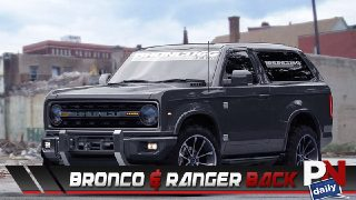 Bronco And Ranger Coming Back, A Hydrogen Cell Truck, Ride Of The Week, C7 Corvette ZR1, Tork T6X, And Fast Fails!