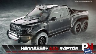 The RockAuto Jeep, Hennessey 6x6 Raptor, F-150 Upgrades, Acura Beats Lambo, And F-150's Heading To Sema!