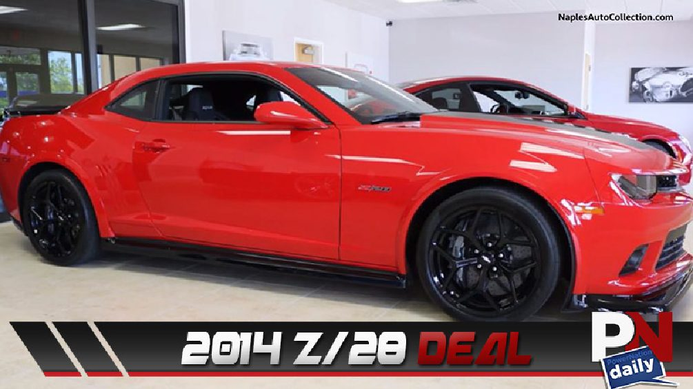 Great Deal On Z/28, Talking Traffic Lights, AWD Challenger, Sleepy Driving, and What's Trending!