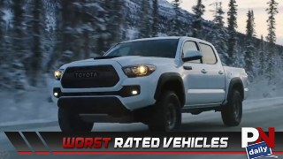 Worst Rated Vehicles, Lambo Lap Time, Ferrari Lawsuit, Buried Wagoneer, And What's Trending!