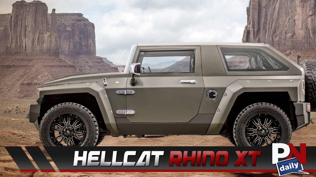 Hellcat Rhino XT, 4-Cylinder F-Type, Toyota's Hydrogen Powered Truck, Cruise Ship Race Track, HPE1000 Charger, And Fast