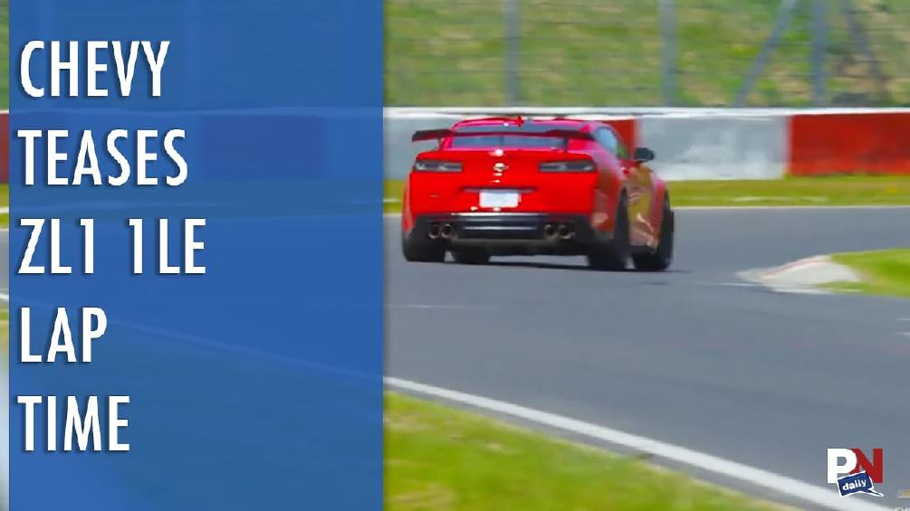 ZL1 1LE Lap Time Tease, Semi-Autonomous Not A Hit, Awesome Cop, Don't Run On Low Gas, And Ford Vs. Chevy