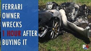 Nissan E-Pedal, Daring Kidnap Escape, Ferrari Wreck, B-1 Truck, Shell CEO Driving Electric