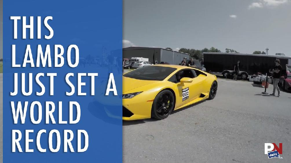 Lego Ferrari, Word's Fastest Shed, Lifting Car With Fishing Line, Working V10 Engine Model, And World Record Lamborghini