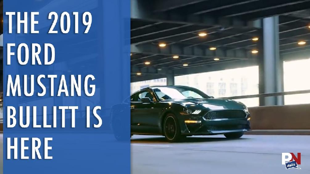 Personal Tank, 800 HP Mustangs, Prius Bobsled, 2019 Mustang Bullitt, Toyota E-Palette, And Fast Fails