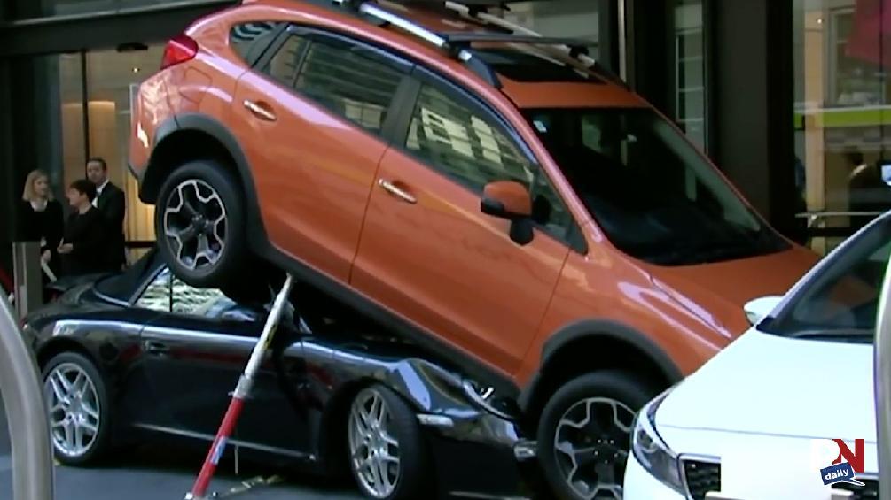 Poor Valet Parking, Motorcycle-Jet Ski Hybrid, GM Exec Pace Car Crash, Insane Motorcycle Save, And Kia Vs. Ford