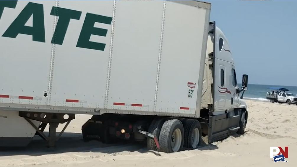 Pothole Trees, Toyota Supra, Race Crew Prank, Excavator Ride, Beached Semi, And Fast Fails