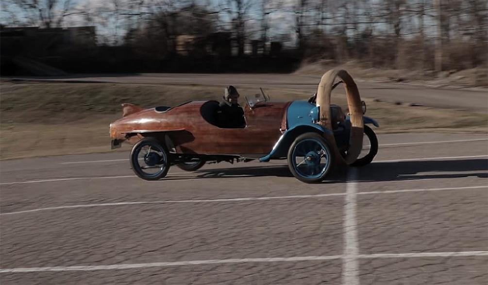 A One-Of-A-Kind 1932 Helicron Was Discovered In A Barn In France!