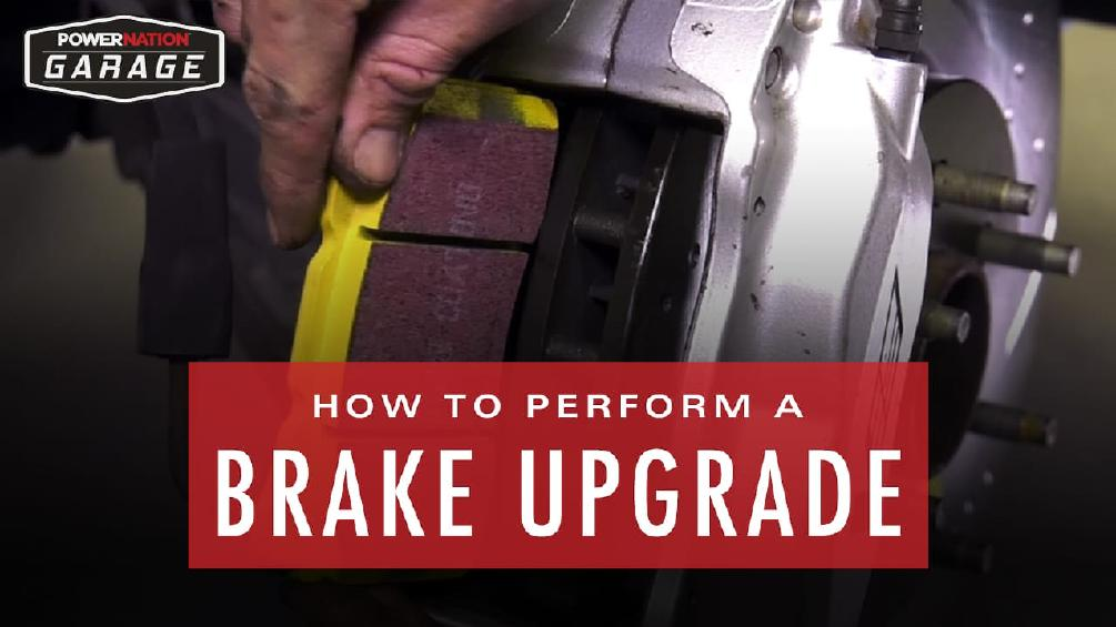 How To Perform A Complete Brake Upgrade