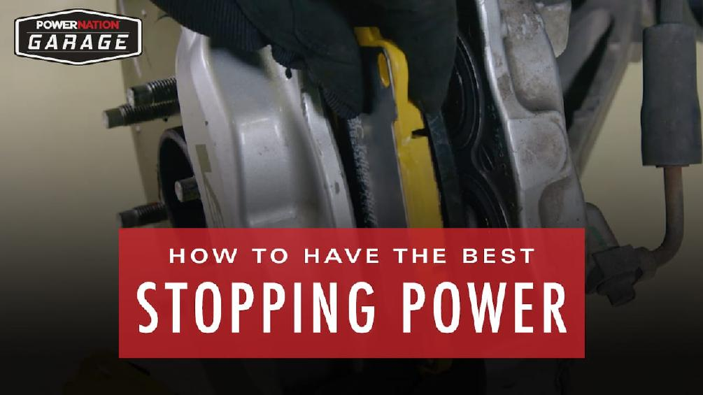 How To Have The Best Stopping Power