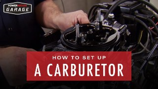 How To Set Up A Carburetor