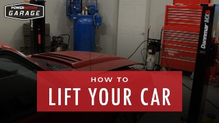 How To Lift Your Car Without Going To The Shop