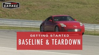 Getting Started - Baseline and Teardown of Our Stock 350-Z!