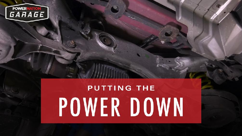 Putting the Power Down - Replacing the Stock Differential With a Race Proven L-S-D!