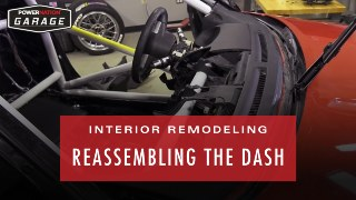 Interior Remodeling – Reassembling the Dash, Adding Racing Seats and Safety Gear!