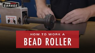 How To Work A Bead Roller