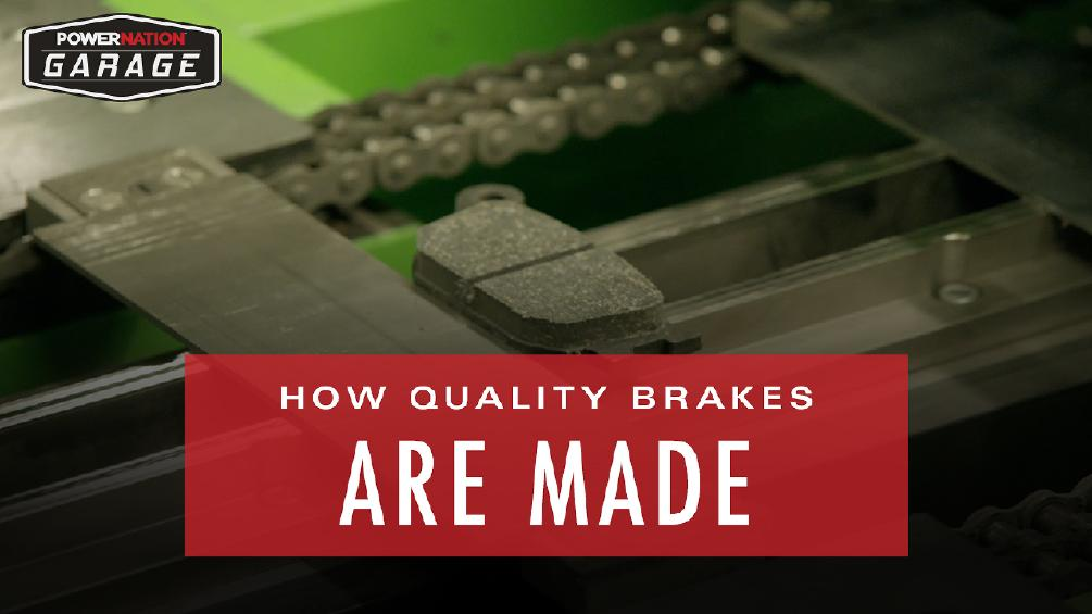 How Quality Brakes Are Made