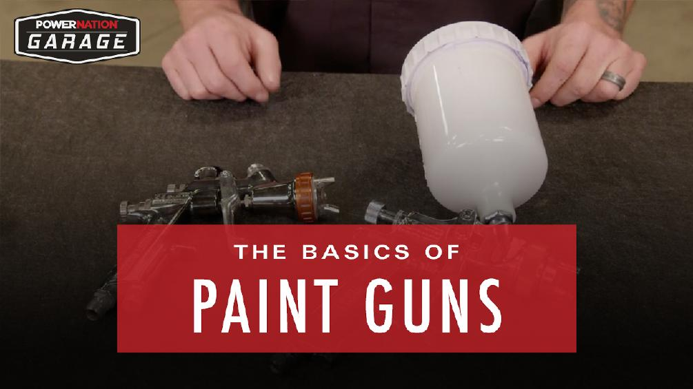 The Basics Of Paint Guns