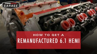 How To Get A Remanufactured 6.1 Liter