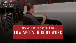 How To Find & Fix Low Spots In Body Work