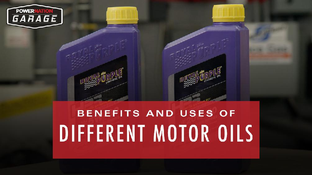 Benefits And Uses Of Different Motor Oils