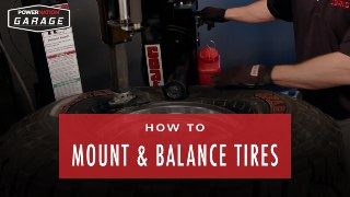 How To Mount And Balance Tires