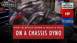 How To Properly Strap Down And Make A Pull On A Chassis Dyno
