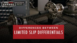 Difference Between Limited Slip Differentials