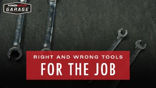 You May Be Using The Wrong Tools For The Job, Here's The Correct Ones