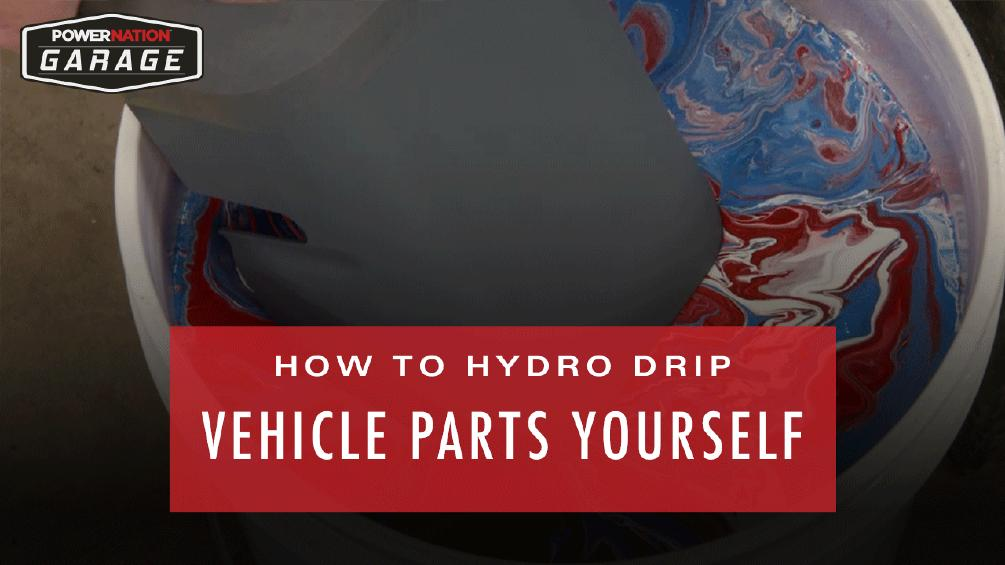 How To Hydro Dip Your Vehicle Yourself : PowerNation Garage