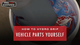 How To Hydro Dip Your Vehicle Yourself