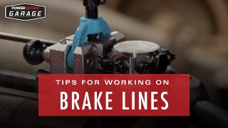 Tips For Running, Flaring, And Bending Brake Lines