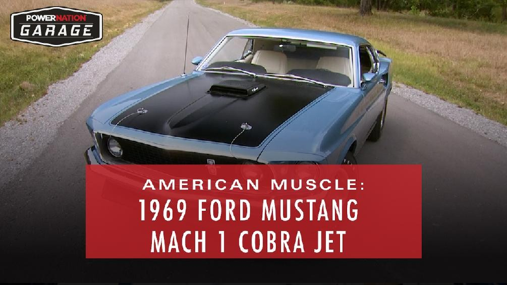 American Muscle: The 1969 Ford Mustang Mach 1 428 Cobra Jet