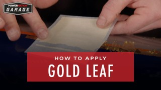 How To Apply Gold Leaf To Your Paint Job