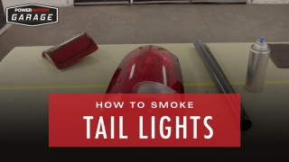 How To Smoke Tail Lights